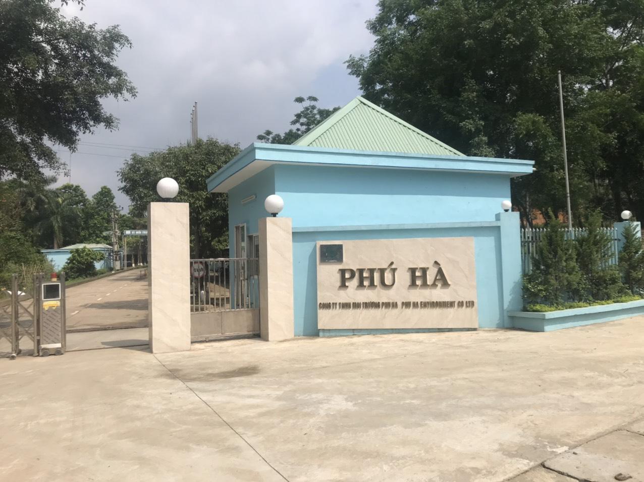Nhà máy xử lý chất thải Phú Thọ